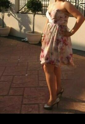AU30 • Buy Forever New Silk Floral Dress Size 14