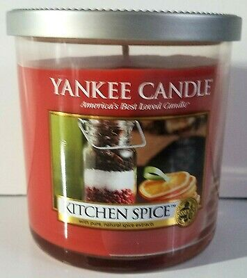 Yankee Candle Retired Kitchen Spice 7oz Jar 1 Wick Candle Burn Time: 35-45 Hours • 17.28£