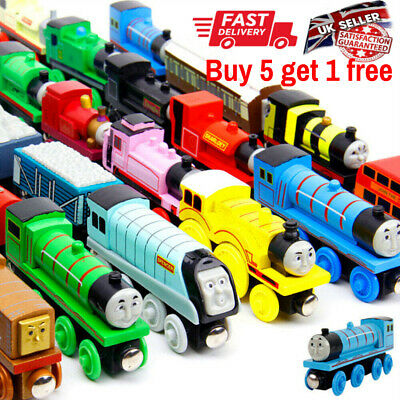 Wooden Trains Track Tank Engines & Tender For Thomas & Friends BRIO COMPATIBLE • 6.99£