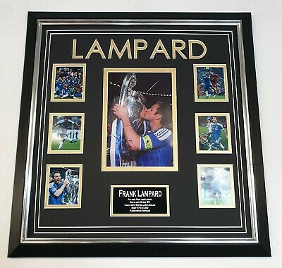 * Rare Frank Lampard Of Chelsea Signed Photo Autograph Display * • 195£