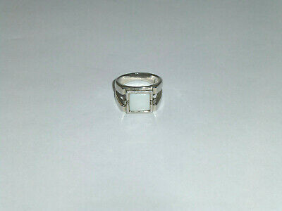 $ CDN25.09 • Buy Lia Sophia Cut Out Mother Of Pearl Ring Size -10
