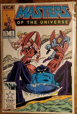 $19.95 • Buy Masters Of The Universe 5 NM Marvel Star