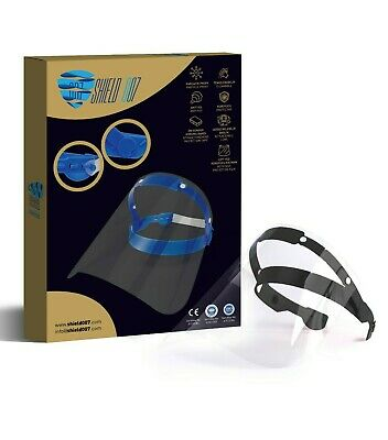 Face Shield Full Face Visor Protection Mask PPE Shield Transparent- MEDICAL A+ • 4.99£