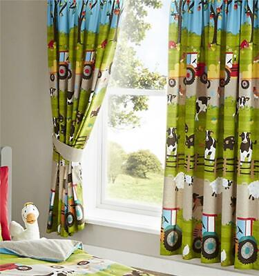 Pencil Pleat Kids Fully Lined Thermal Curtains W168cm x L137cm Hot Pink W66 x L54 Inches