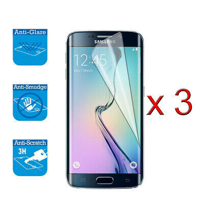$ CDN3.51 • Buy For Samsung Galaxy S6 -Screen Protector Cover Guard LCD Film Foil X 3
