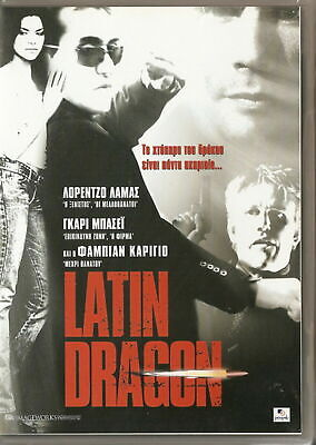 LATIN DRAGON Lorenzo Lamas Gary Busey Fabian Carrillo R2 DVD SEALED • 9.27£