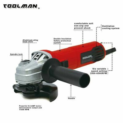 Variable Speed Small Electric Hand Angle Grinder • 51.95£