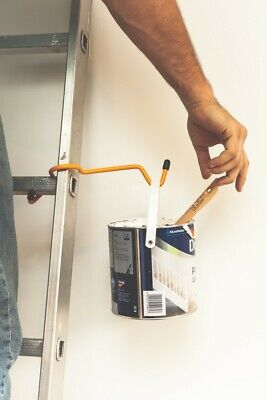 Ladder Handy - Paint & Bucket Holder -  Hands Free Accessory  - Free Delivery • 15.98£