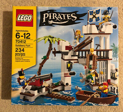 £129.99 • Buy Lego Soldiers Fort 70412 Governors Lady/daughter Pirates Retired Rare New Sealed