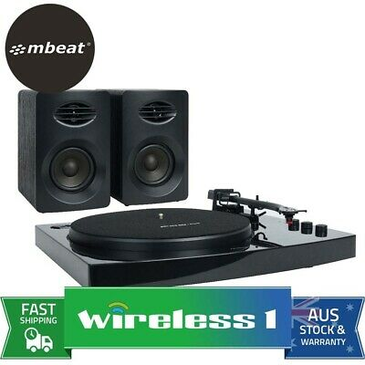 AU159 • Buy Mbeat Pro-M Bluetooth Stereo Turntable Record Player System