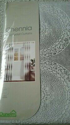 £39.99 • Buy New Curtains From Dunelm Mill 46x90