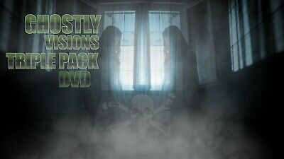 £12.50 • Buy ∞ghostly Visions Triple Pack ∞window Halloween Decorations For Projector Dvd
