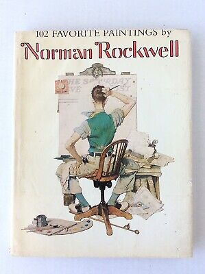 $ CDN25.06 • Buy Norman Rockwell Vintage 1978 Large Book ~ 102 Favorite Paintings  W/ Dustcover