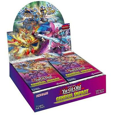 Yugioh Genesis Impact Booster Box / Case 1st Edition Pre-Order 03/12/2020 • 63.99£