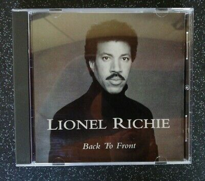 Lionel Richie : Back To Front CD (1999)  • 1.89£