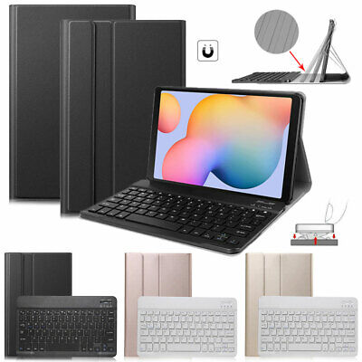 AU40.99 • Buy Case With Bluetooth Keyboard For Samsung Galaxy Tab S6 Lite 10.4 2020(P610/P615)
