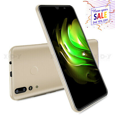 AU100 • Buy 2020 Android 9.0 Smartphone 6.0  Unlocked Dual SIM 4Core Mobile Phone Cheap New
