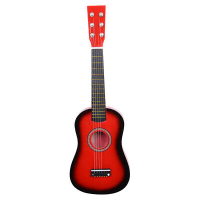 23''childrens Kids Wooden Acoustic Guitar Musical Instrument Child Toy Xmas Gift • 17.58£