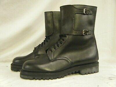 $48.62 • Buy Genuine Vintage Italian Army Assault Combat Leather Military Boots Size 13 48