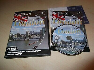 ✈️ Fsx Vfr London X ~ Microsoft Flight Simulator X Fsx Add-on Scenery Aerosoft  • 11.99£