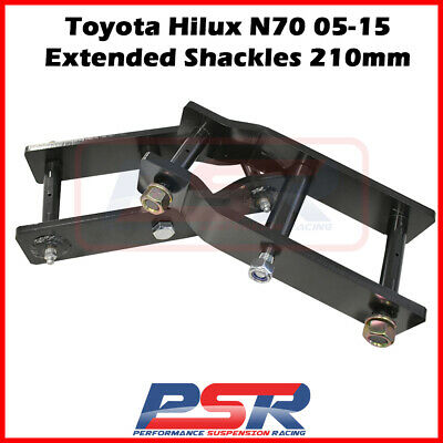 AU195 • Buy Toyota Hilux N70 05-15 Extended Shackles 210mm
