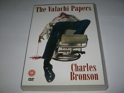 The Valachi Papers (1972) Charles Bronson - Rare Official Original Region 2 Dvd • 9.99£