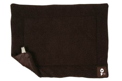 Yap Roventa Cage And Carrier Mat, Choc Faux Lambswool, 28 X 42 Inch • 20.34£