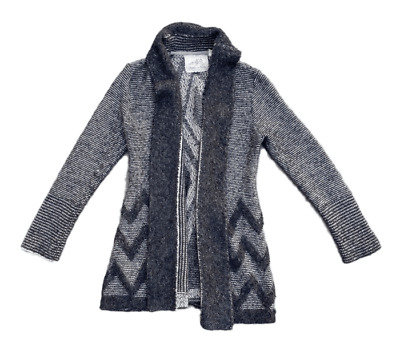 $ CDN36.65 • Buy Angel Of The North Women's Anthropologie Wool Blend Thick Cardigan Sweater | L
