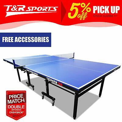 AU577.99 • Buy PRIMO Triumph 188 Pro Size Outdoor Table Tennis Ping Pong Table Home Yard