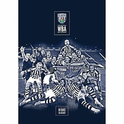 West Bromwich Albion Official A3 Supporters 2021 Calendar - RRP £9.99 • 7.99£