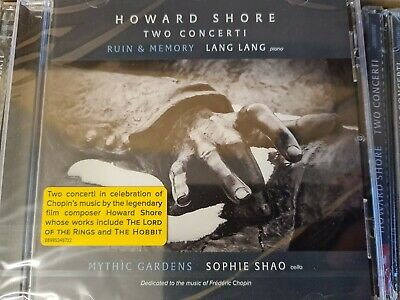£3.79 • Buy Howard Shore - Two Concerti - Lang Lang CD! SONY CLASSICAL, SOPHIE SHAO. NEW