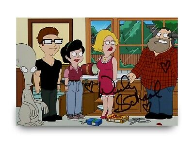 $ CDN30.10 • Buy Wendy Schaal Signed 6x4 Photo American Dad! Francine Smith Voice Autograph + COA