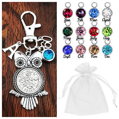 £2.99 • Buy 16th 18th 21st BIRTHDAY GIFT,LUCKY SIXPENCE OWL 30th 40th 50th 60th BIRTHSTONE