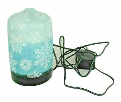 AU19.14 • Buy Essential Oil Diffuser Color Changing Snowflakes SEE DESCRIPTION AND PHOTOS