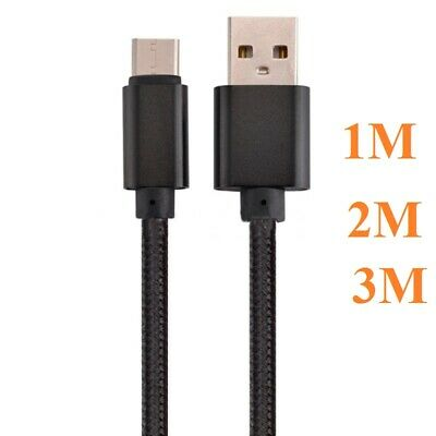 Fast Charger For Samsung Galaxy S8 S9 S10+ Plus Type C USB-C Data Charging Cable • 2.49£