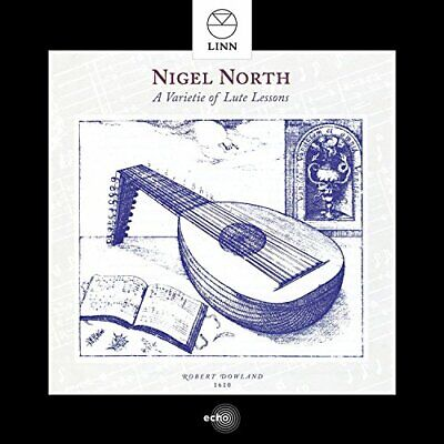 Nigel North - A Varietie Of Lute Lessons [CD] • 8.70£