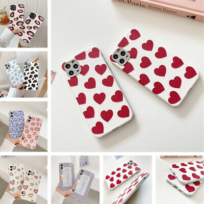 AU5.10 • Buy For IPhone 12 11 Pro Max XS XR 8 7 Various Cute Pattern Soft Silicone Case Cover