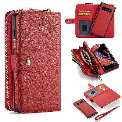 $ CDN19.83 • Buy For Samsung Galaxy Note 20 Ultra 10 9 S20 S9 S8 Leather Zipper Wallet Case Cover