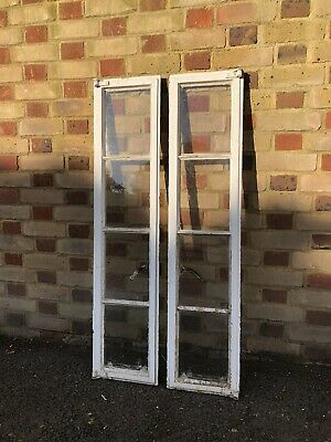 Pair Of Reclaimed Old Art Deco Crittall Window • 115£