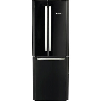 Hotpoint FFU3D.1K 70cm 3 Door Frost Free Fridge Freezer - Black • 489£