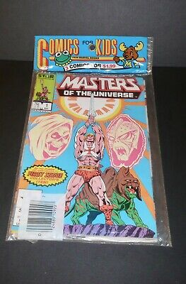 $140 • Buy Star/Marvel Masters Of The Universe Comics 1,2, And 3 New In Package