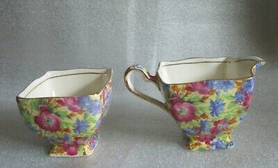 $ CDN32.23 • Buy ROYAL WINTON Grimwades Creamer Cream Pitcher & Open Sugar Bowl ROYALTY CHINTZ!
