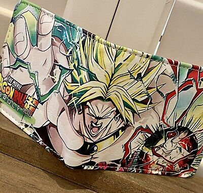 $16.99 • Buy Bi-fold Wallet Dragon Ball Super Broly Anime  Gift Faux Leather US Seller