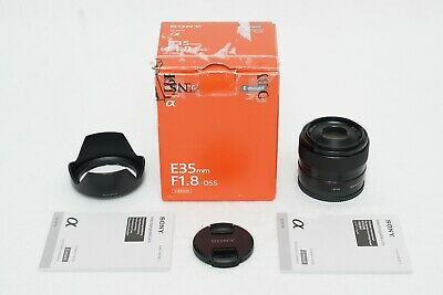 $ CDN417.36 • Buy Sony E 35mm F/1.8 OSS Lens Digital Mirrorless Camera EX SEL FE A6600 A6500 A6400