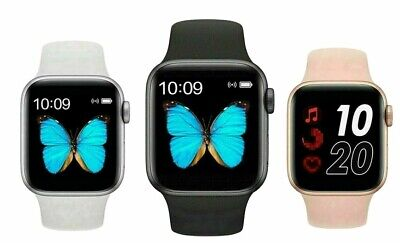 AU39 • Buy New BLACK T500 Smart Watch IOS Phone Android Blood Pressure Heart Rate 44mm