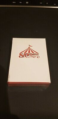 Sawdust Playing Cards. Rare Deck. Sold Out And No Longer Printed. Emmanuel Jose • 20£