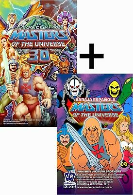 $34.90 • Buy MOTU Card Game Trading Cards Masters Of The Universe LOT He-man Filmation 30th .