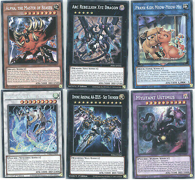Yugioh Phantom Rage Single Cards - Choose From All Cards! 1st Ed • 0.99£