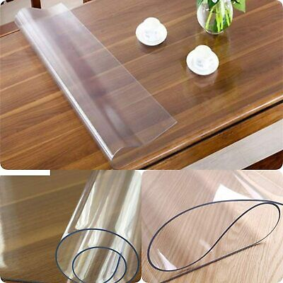 £9.25 • Buy Clear Table Protector Dinning Table Cover Protector Transparent Waterproof