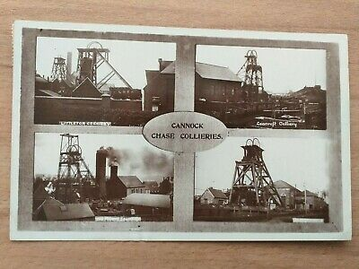 Cannock Chase Colleries Multi View Postcard • 22£